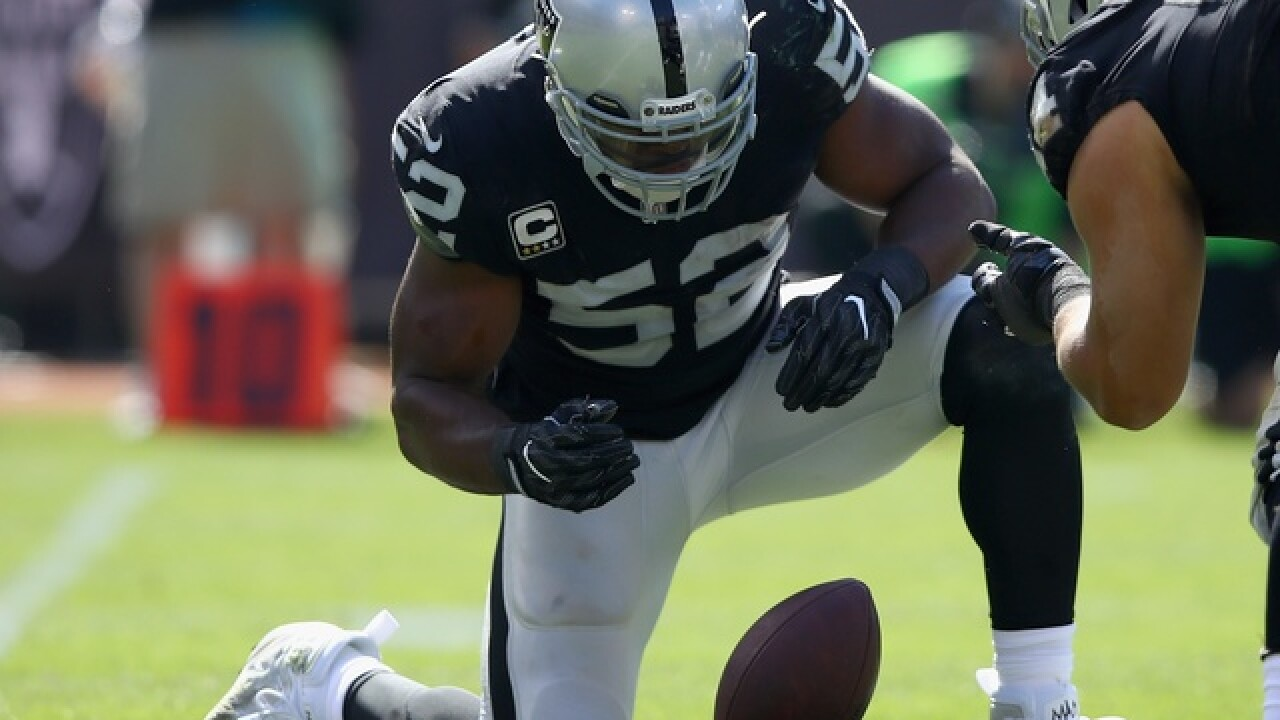 Khalil Mack traded to Bears