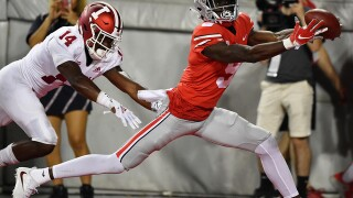 No. 3 Ohio State pulls away to beat pesky Indiana 49-26