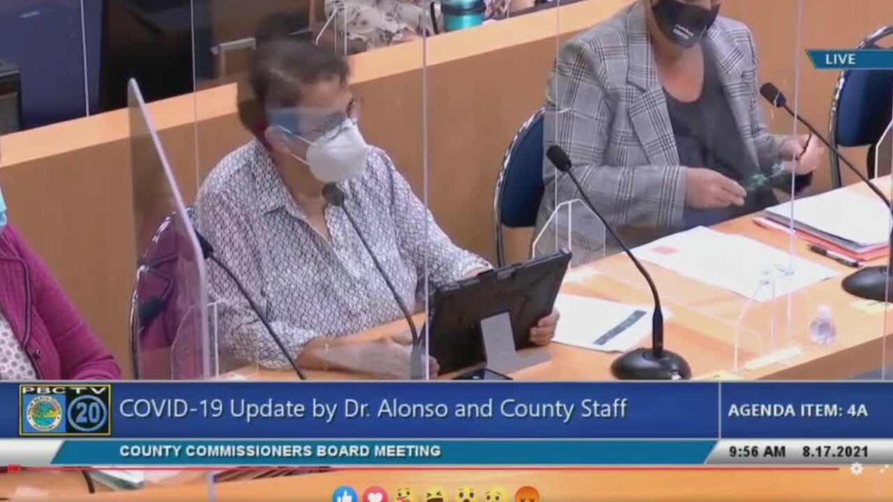 Palm Beach County health director Dr. Alina Alonso gives a COVID-19 update on Aug. 17, 2021.jpg