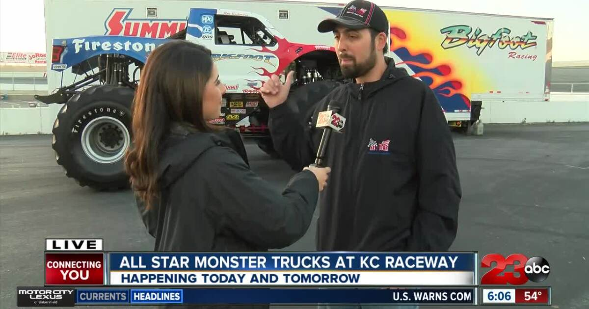 All Star Monster Truck Tour stops in Kern County for the first time