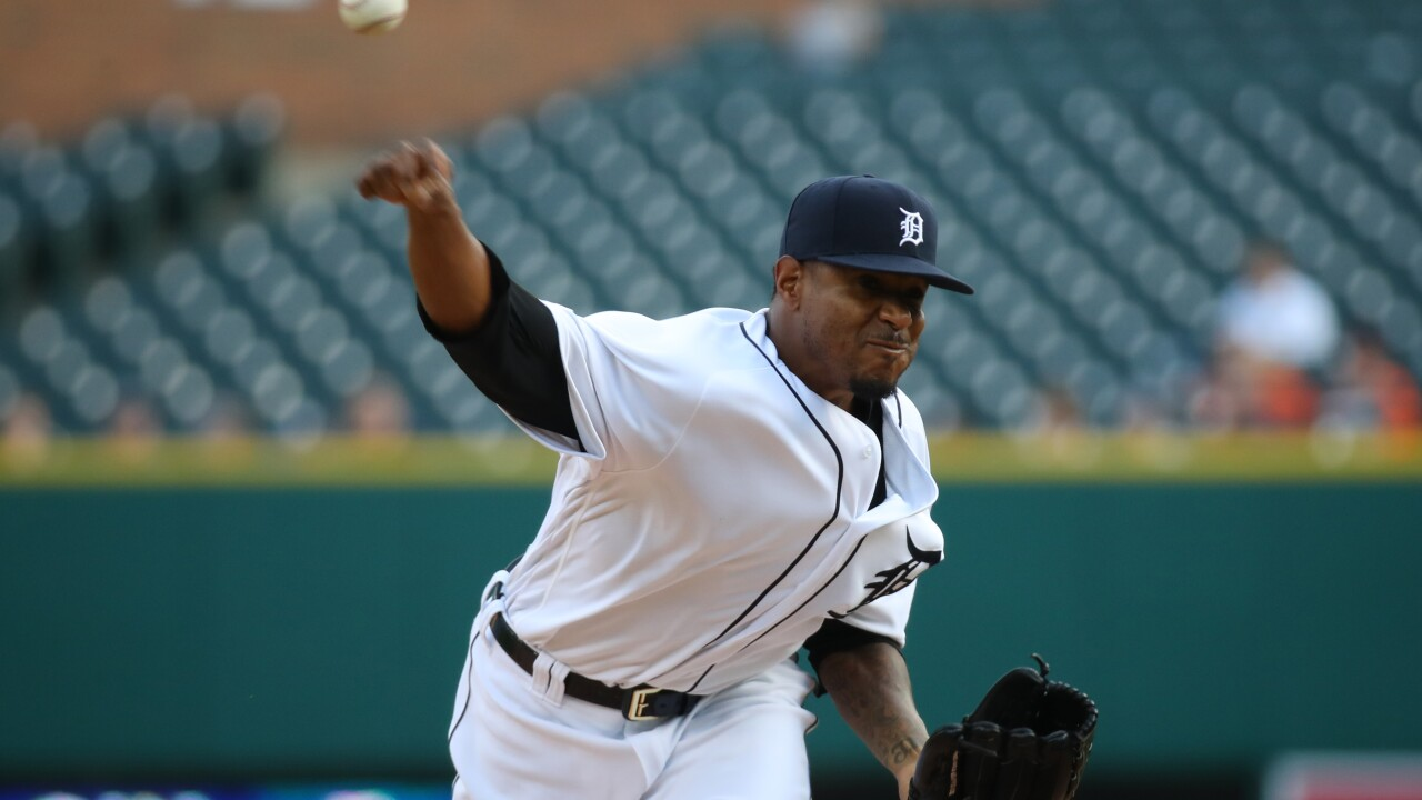 Edwin_Jackson_Seattle Mariners v Detroit Tigers