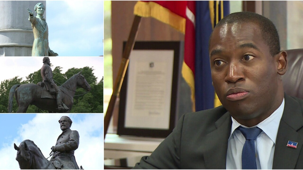 Mayor explains why Confederate monument removal is now on thetable