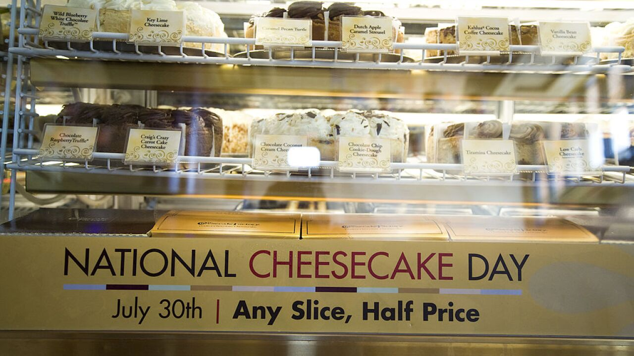 National Cheesecake Day: Here's where you can get a free slice (or stick)