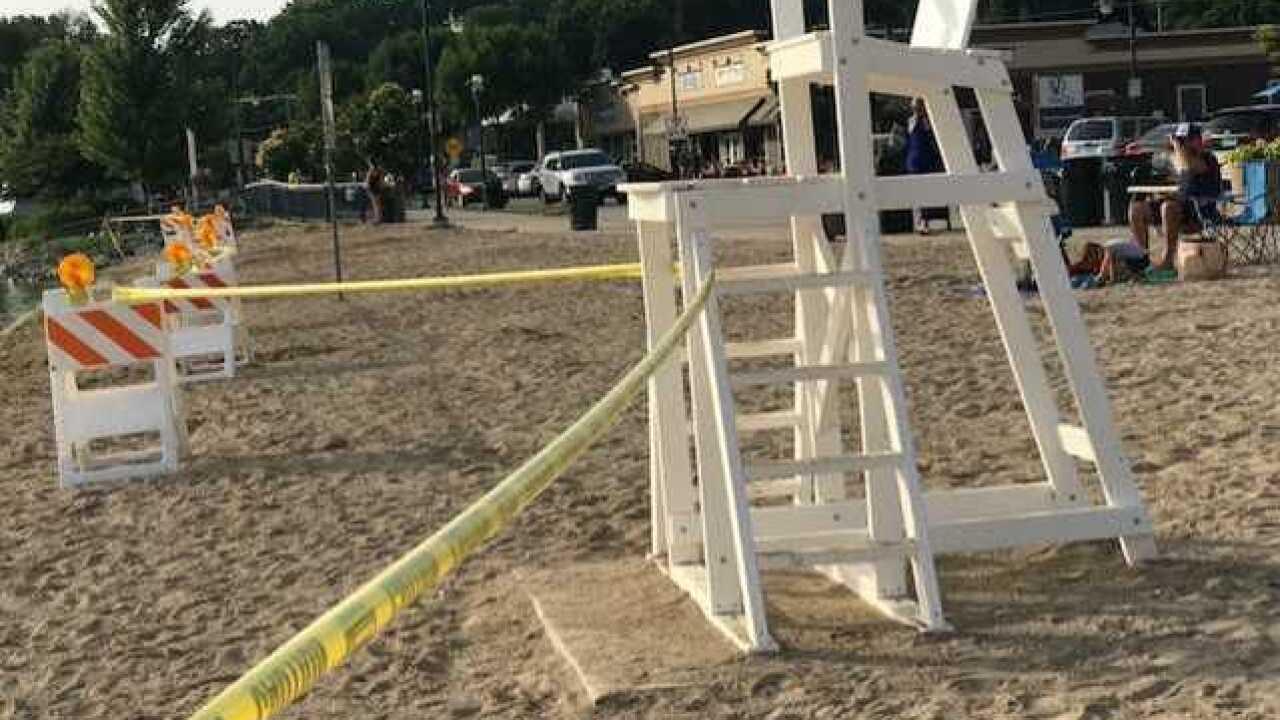 Pewaukee beach shut down due to dangerous algae