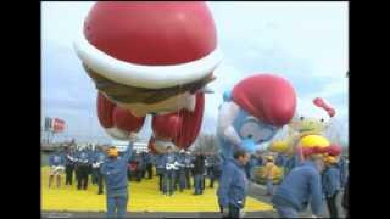 New balloons for Macy's Thanksgiving Day Parade