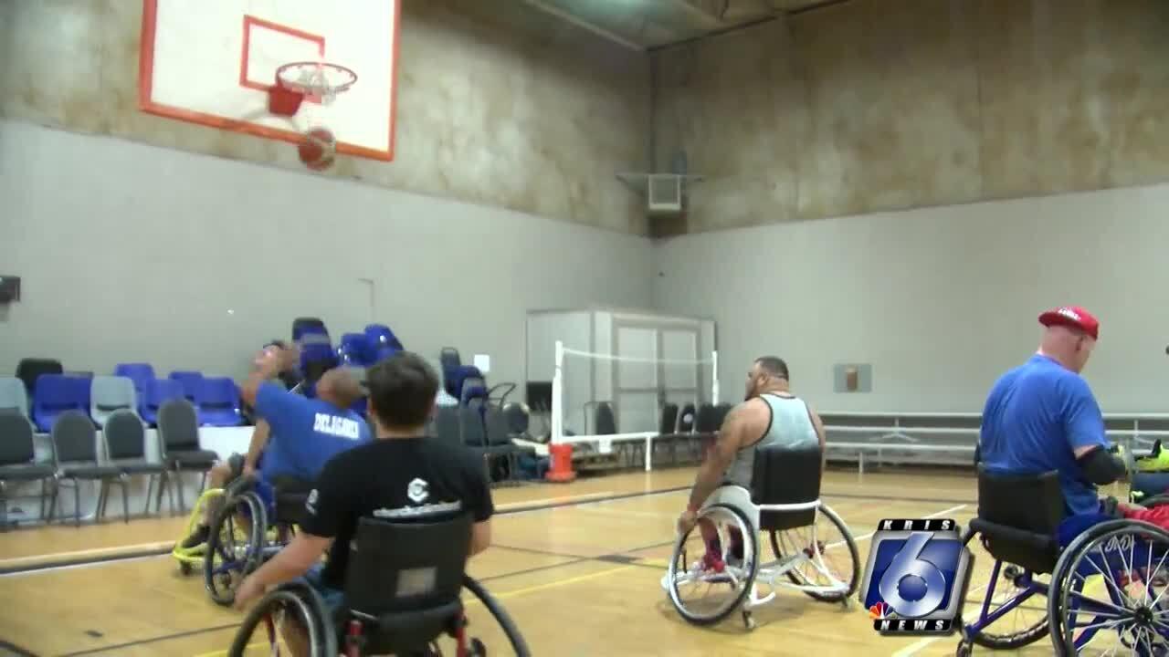 CC Rimz wheelchair basketball team