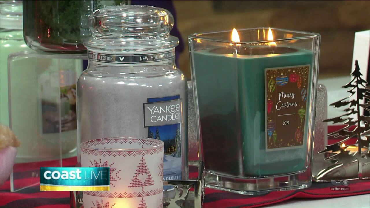 Holiday gift ideas from Yankee Candle Village on Coast Live