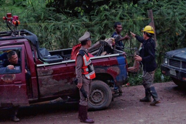 PHOTOS: First boys rescued from Thai cave