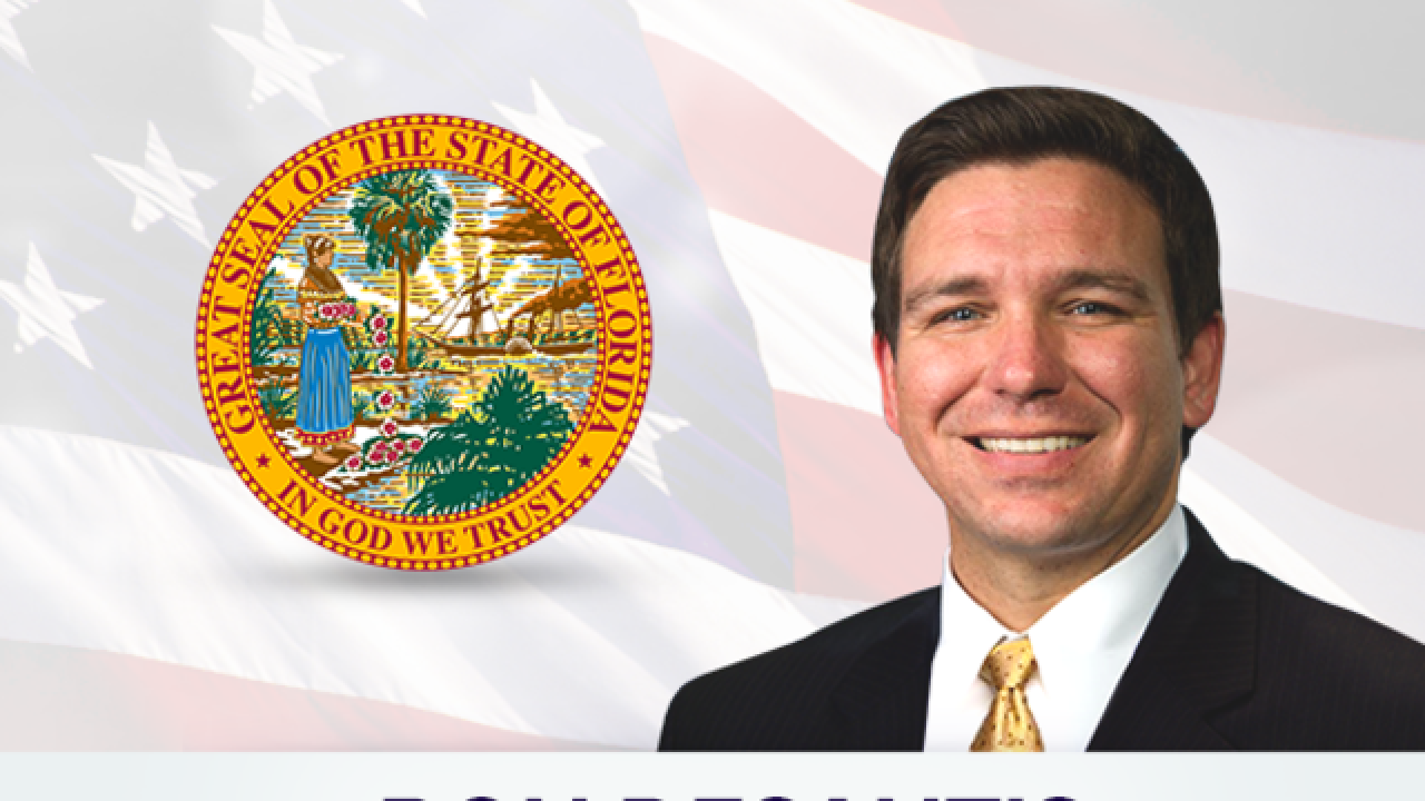 DeSantis elected as Florida's next governor