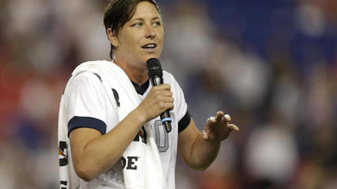 Soccer star Abby Wambach to join ESPN
