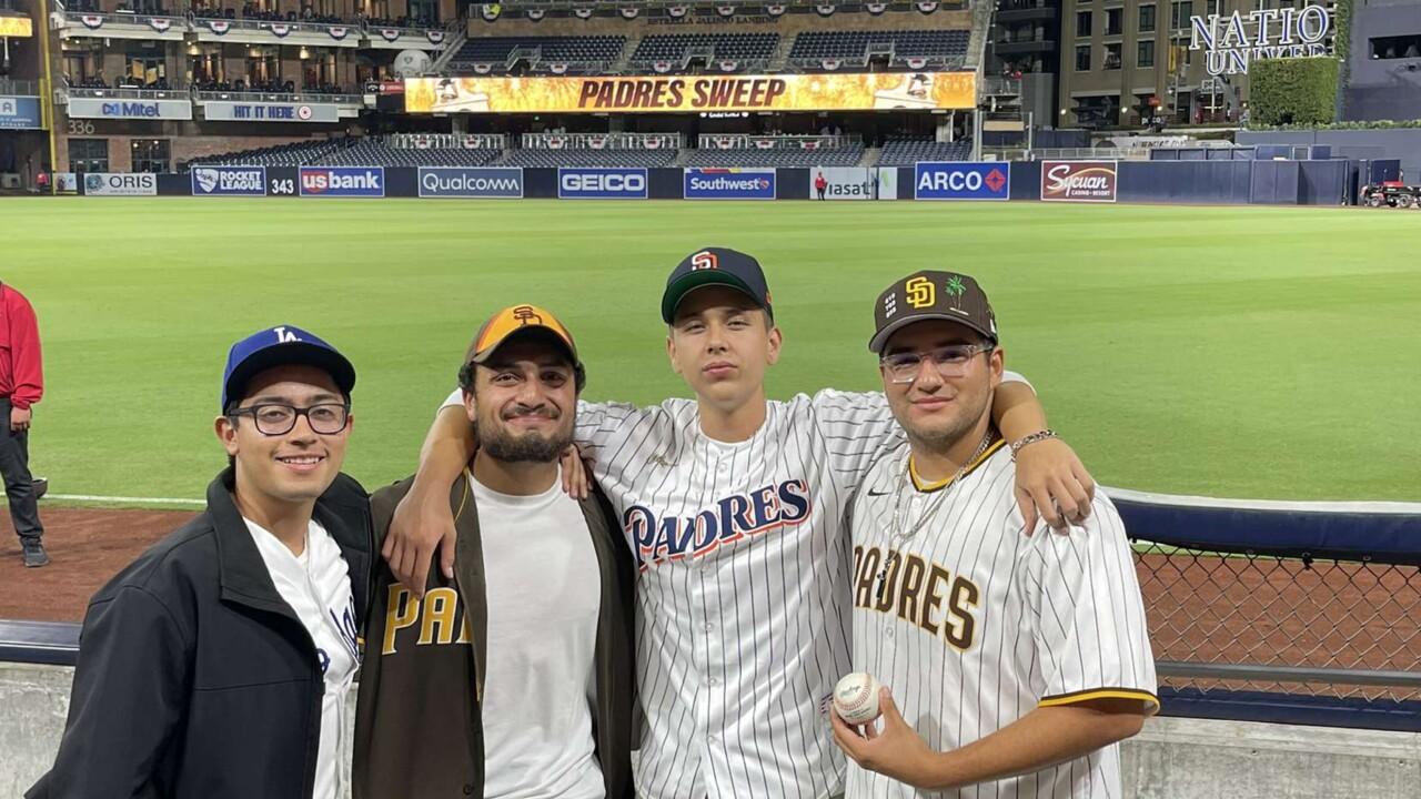 Ricky Magana Padres Fan