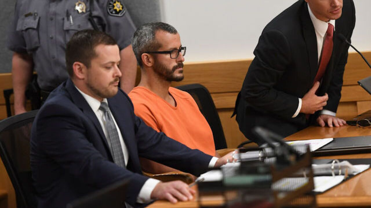 Chris Watts confessed to his father that he killed his wife in a rage, new video shows