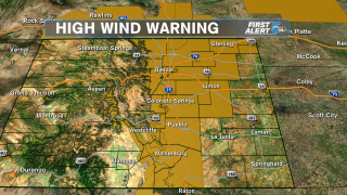 High Wind Warnings 1/17/2020