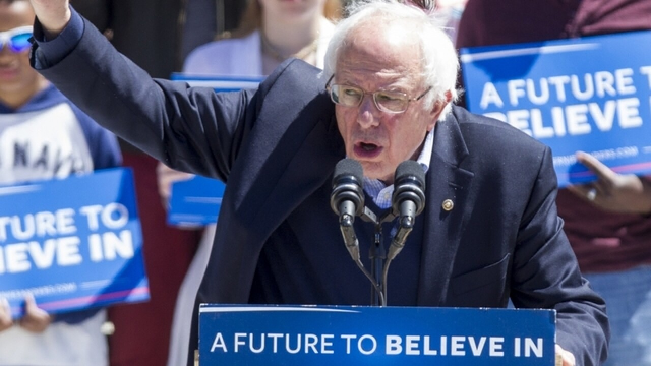 Sanders' bid reaches turning point