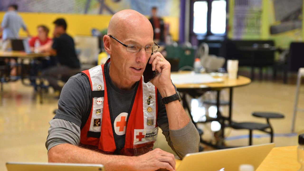 Tennessee American Red Cross volunteers help wildfire victims