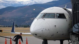 Missoula International Airport Jet