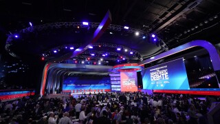 Election 2020 Debate Stage