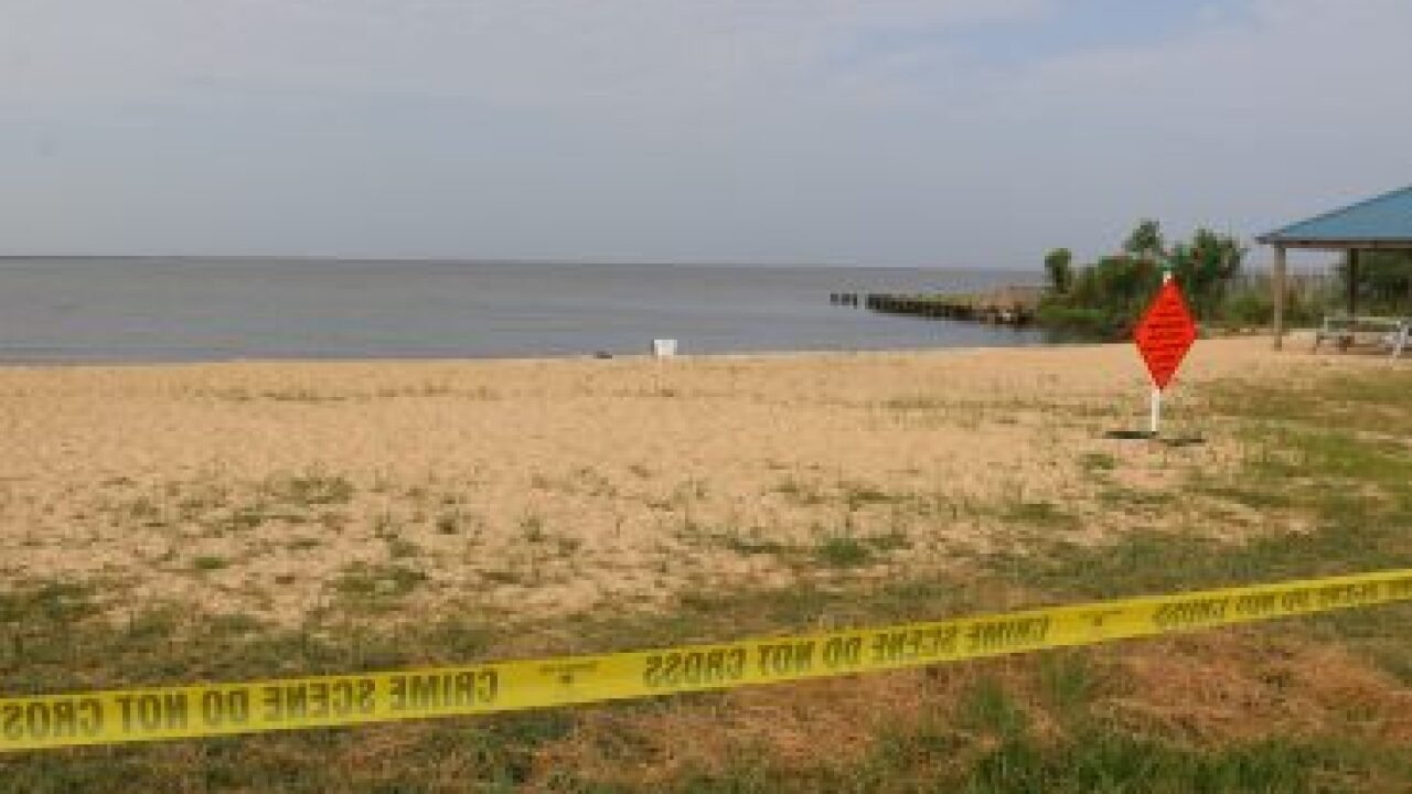 Scene where the body of a missing woman was located. (July 5, 2019)  (PHOTO: WGNO)