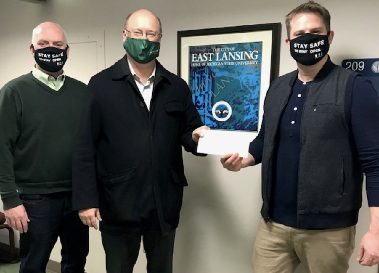 East Lansing Rotary Club donates to crowdfunding campaign