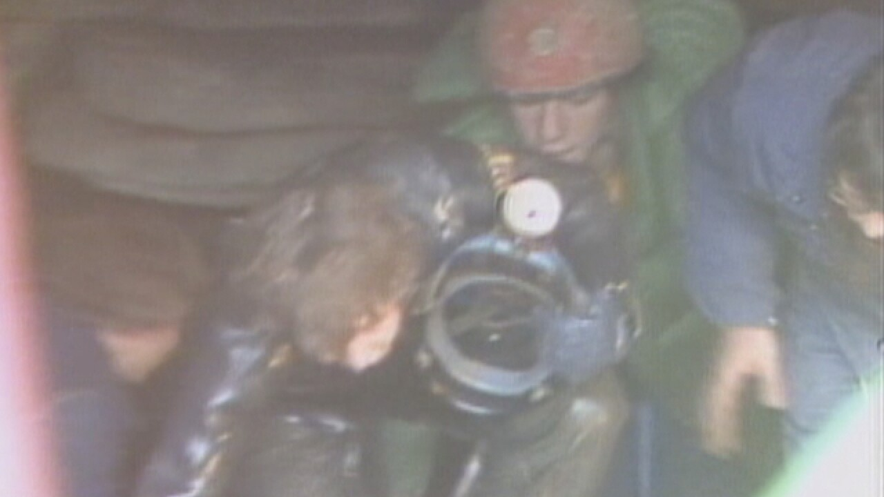 Woman describes 1983 Kentucky cave rescue