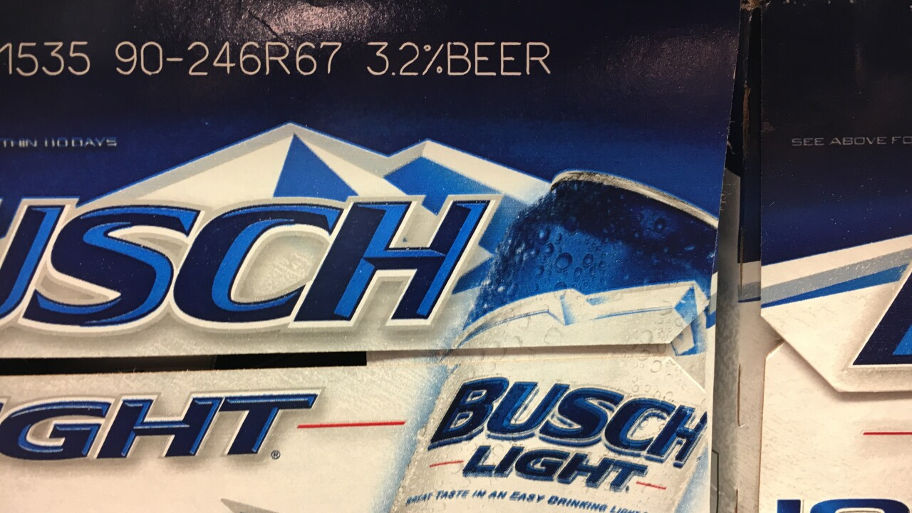 Anheuser-Busch to scale back 3.2 beer brands and that's going to impact Utah