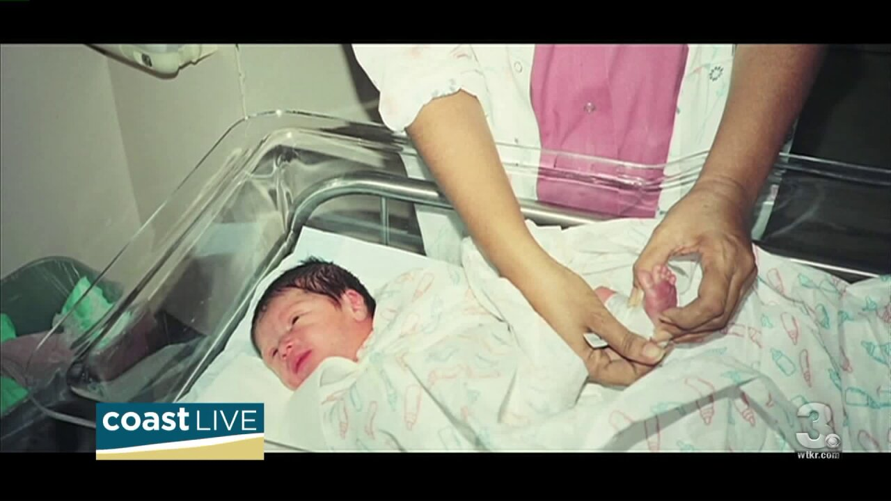 We meet a former preemie now spokesperson for March for Babies on CoastLive