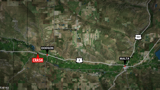 Man dies in rollover crash on Highway 2 near Dodson