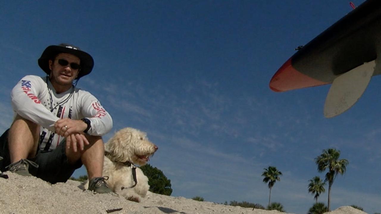 Florida man to paddleboard 300 miles through Everglades to raise awareness for veteran suicides