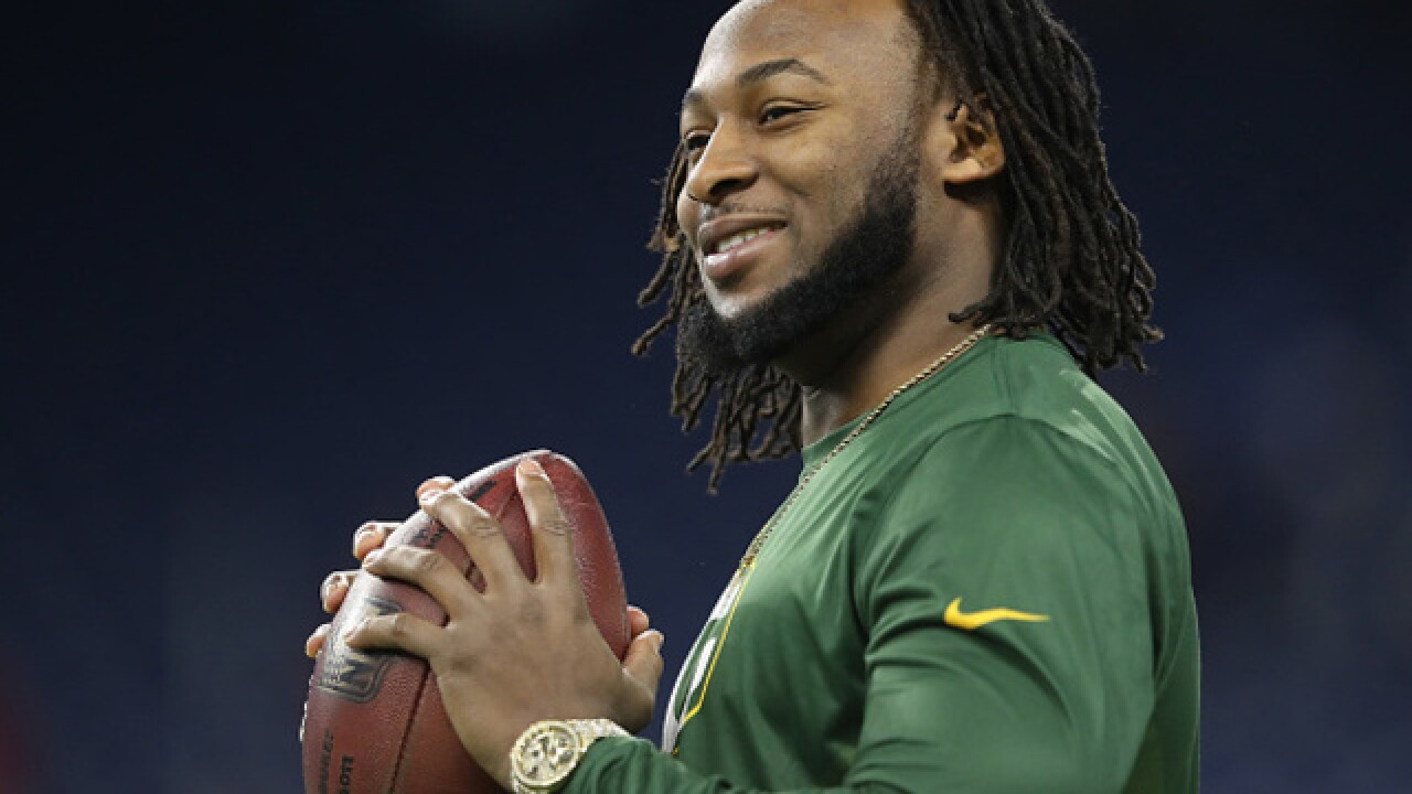 "Aaron Jones nominated for NFL's ""Salute to Service Award"""