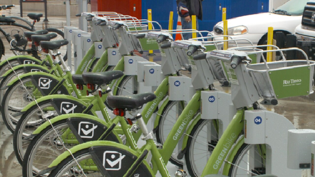 Need a ride on Halloween? Ride GREENbikes in Salt Lake for just $1