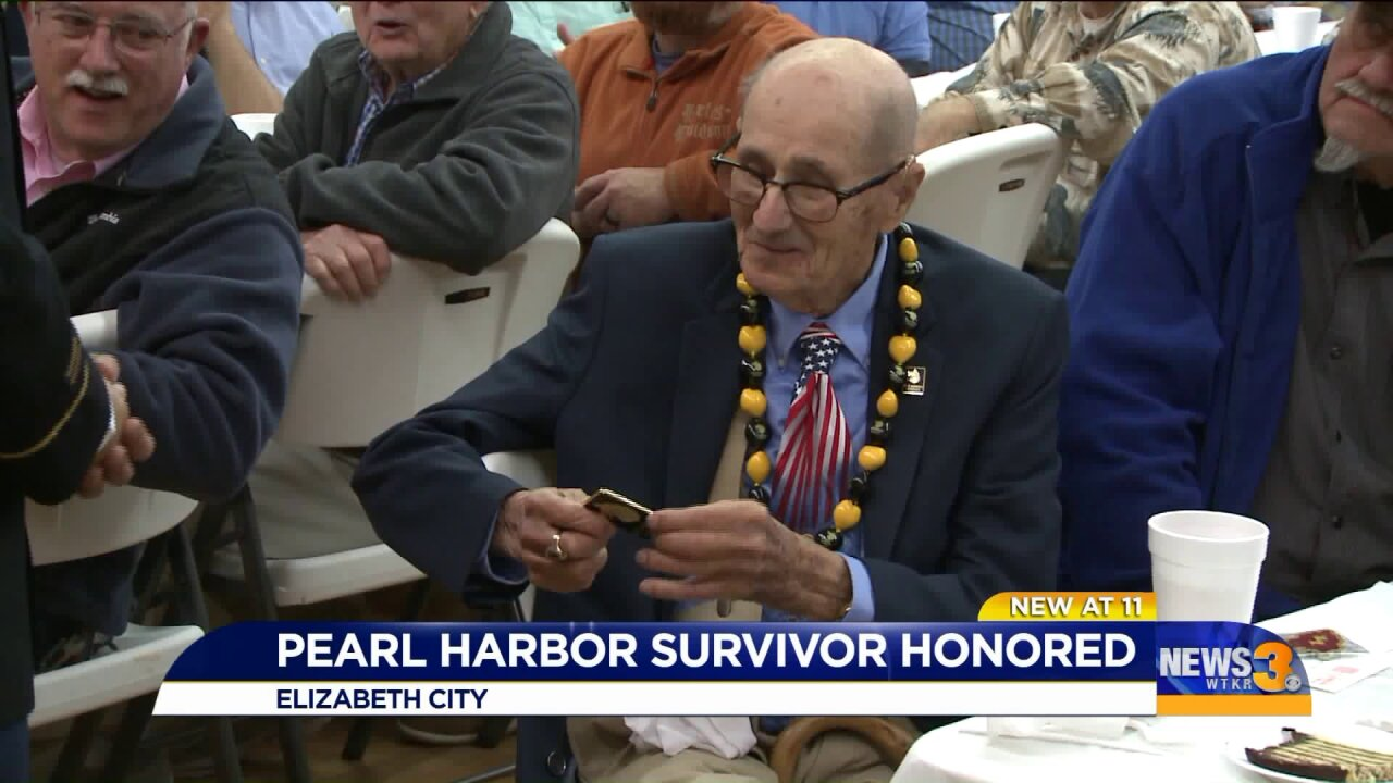 Local Army veteran and Pearl Harbor survivor honored for service at the age of 99