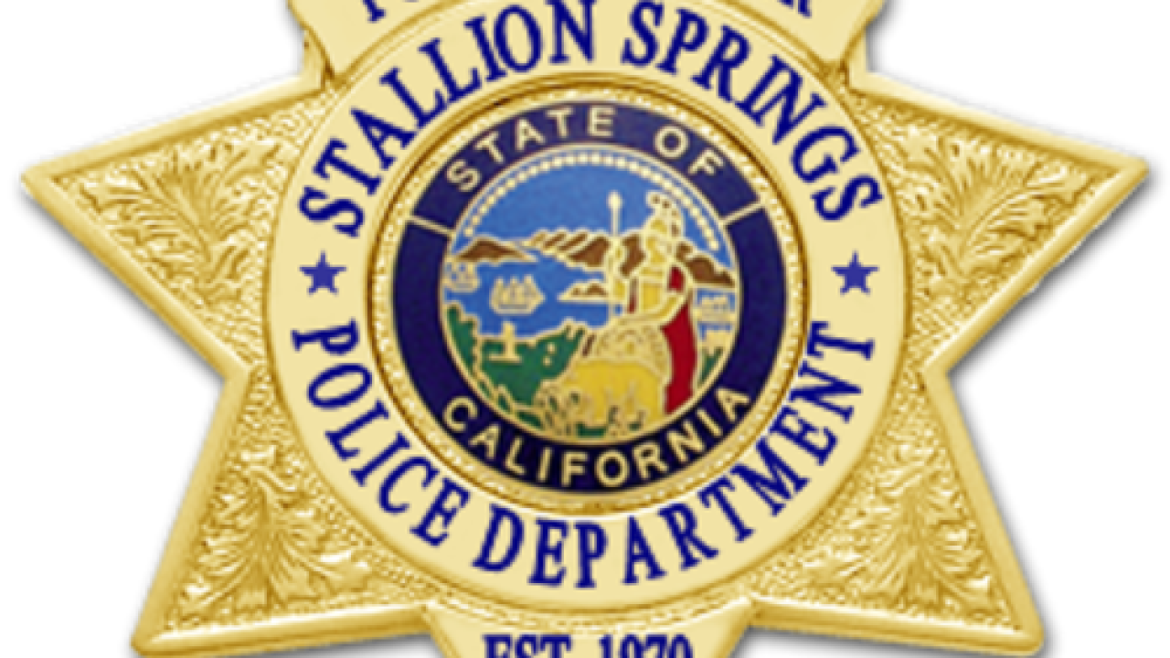 Stallion Springs Police Department in need of volunteers for Operation Adopt a Soldier