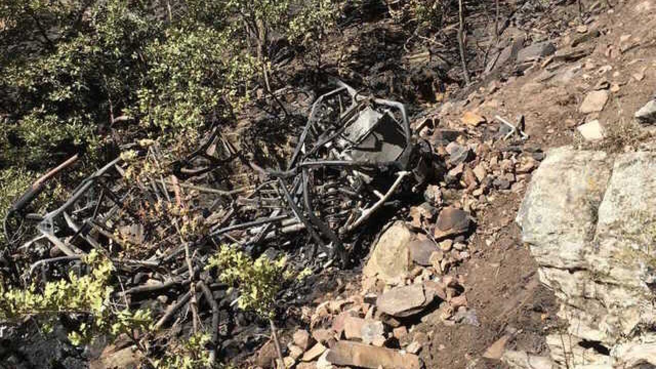 Authorities unsure what led ATV to go off...