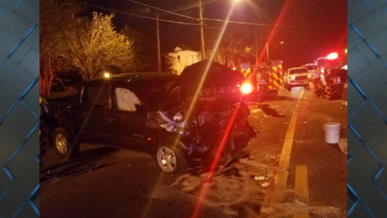 Head-on collision leaves driver, passenger with serious injuries - 3