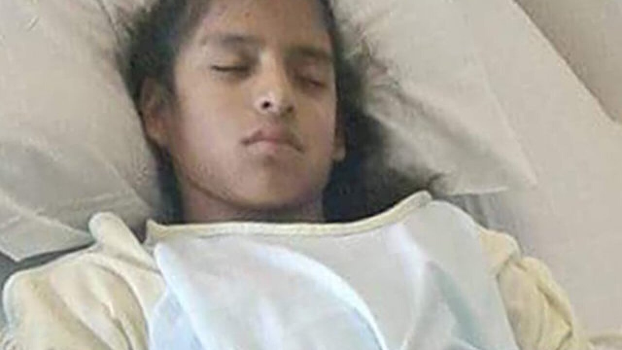 Undocumented girl, 10, with cerebral palsy in federal custody after emergency surgery
