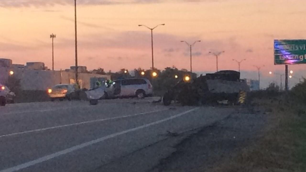 Boone Co. coroner called to crash on I-75/71