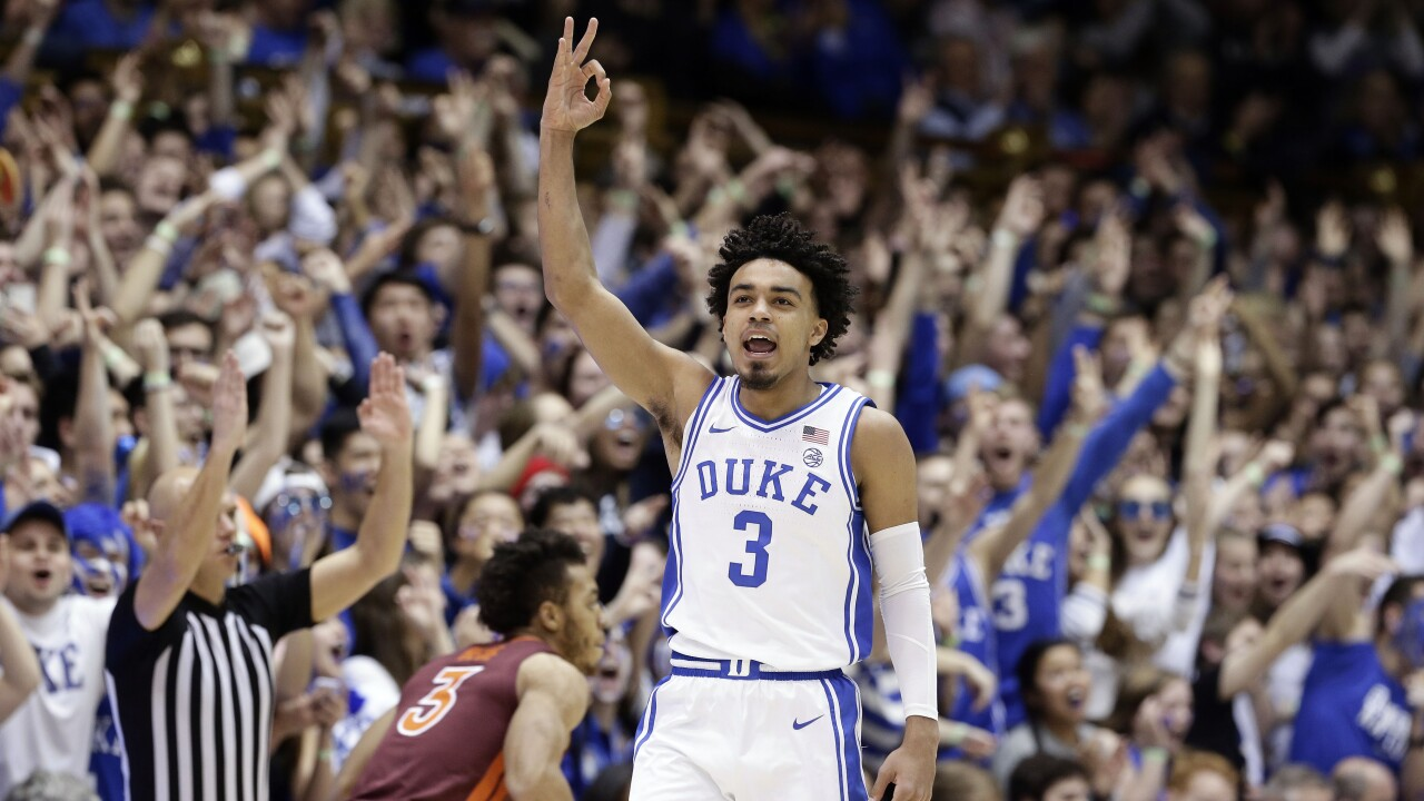 Dukes Jones Voted Acc Mens Basketball Player Of The Year Fsus