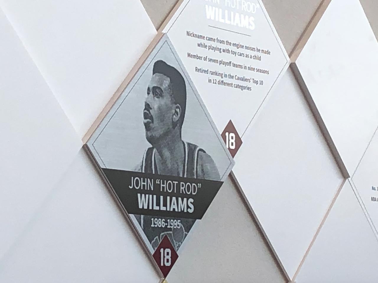 John Hot Rod Williams Wall of Fame