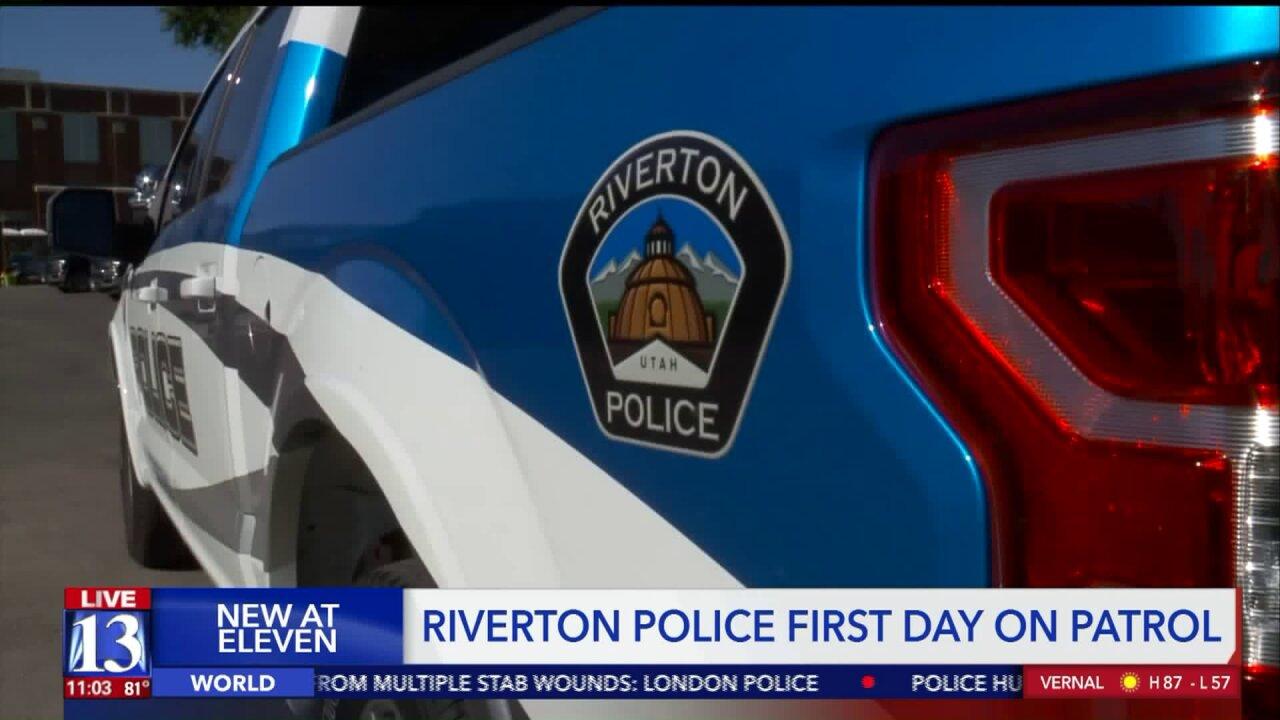Riverton Police begin patrolling as city leaves UnifiedPolice