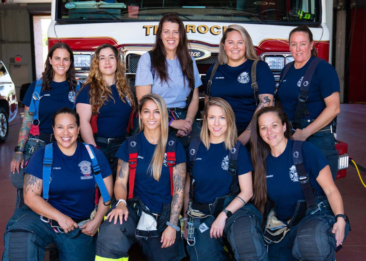 Clearwater fire ladies