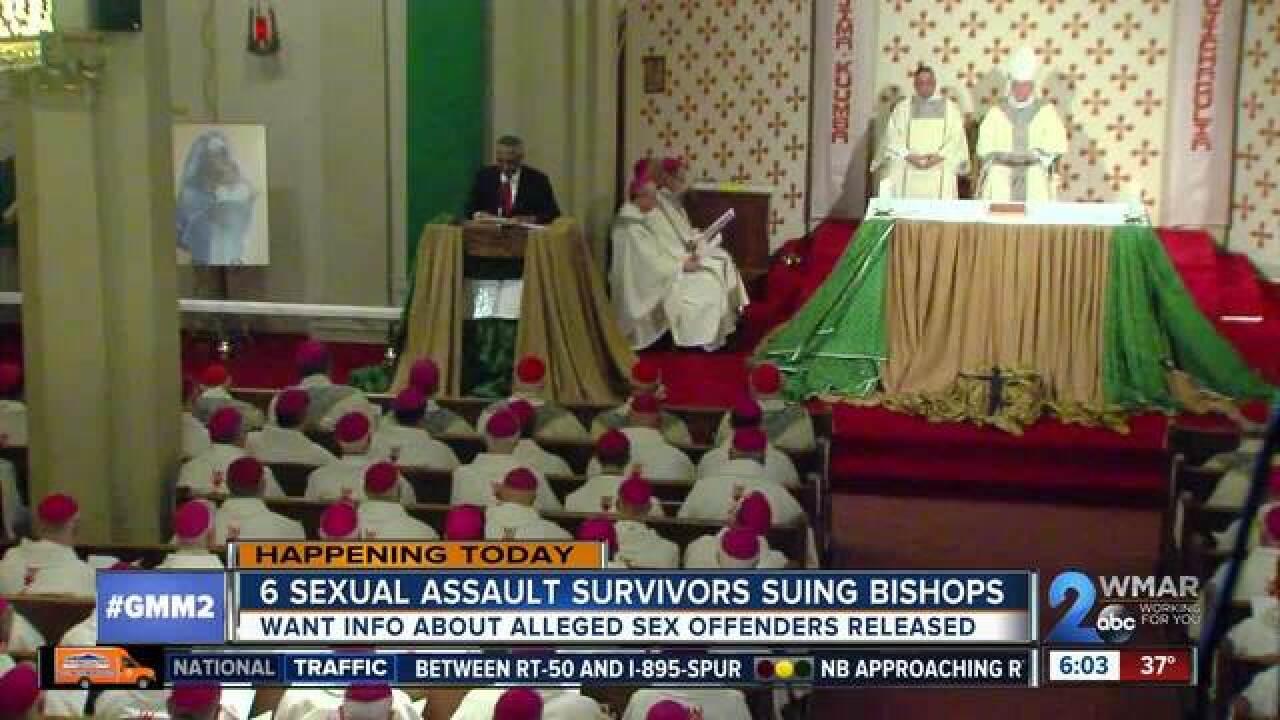 Six sexual assault survivors to announce lawsuit against bishops
