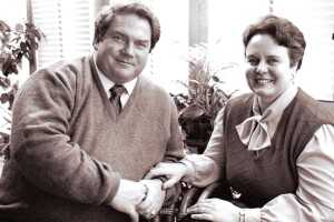 Gil and Marilyn Alexander in 1989
