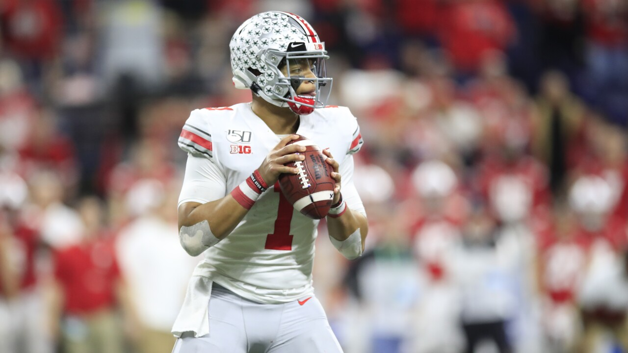 Big Ten Football Championship - Ohio State v Wisconsin - Justin Fields
