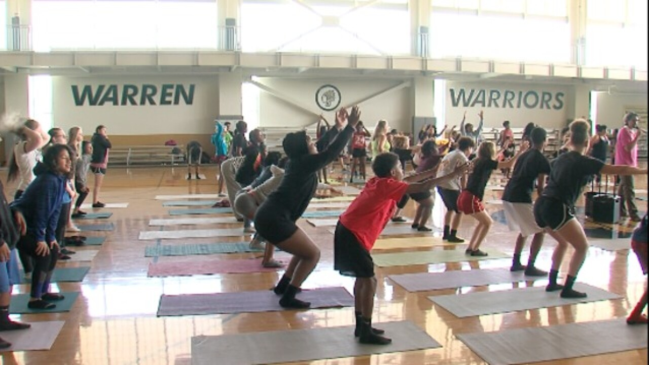 Empowering Indy's youth through yoga