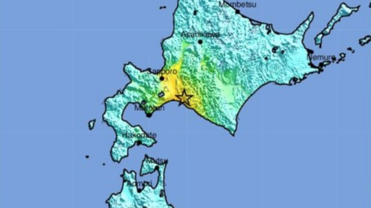 Strong earthquake reportedly buries homes in Hokkaido, Japan