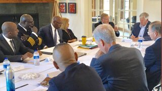 Meeting with KC Mayor and MO Gov