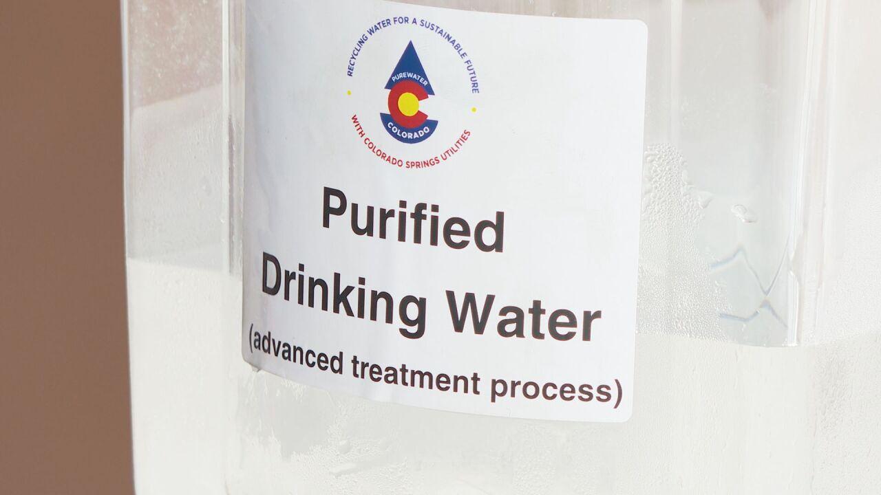Water purified by CSU