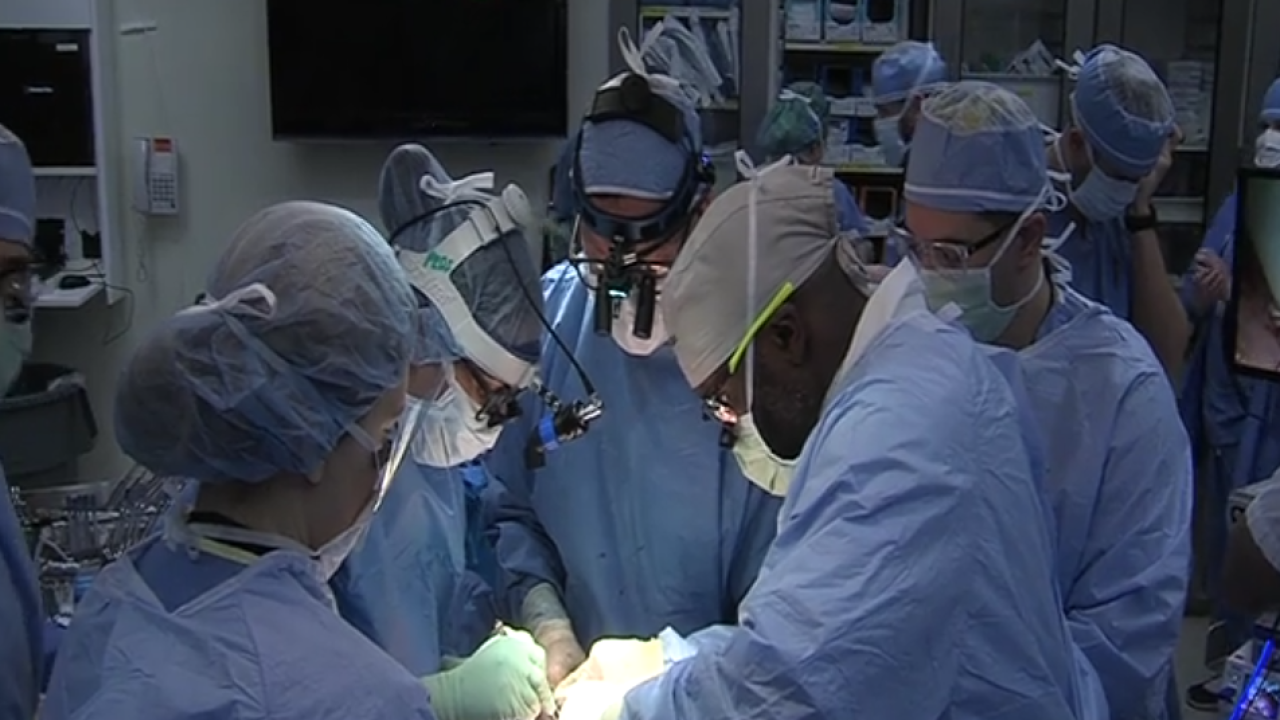 Baby born after undergoing rare in utero fetal surgery in Ohio