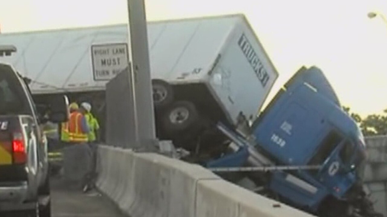 I-95 SB on-ramp closed at Congress Ave. in Boca