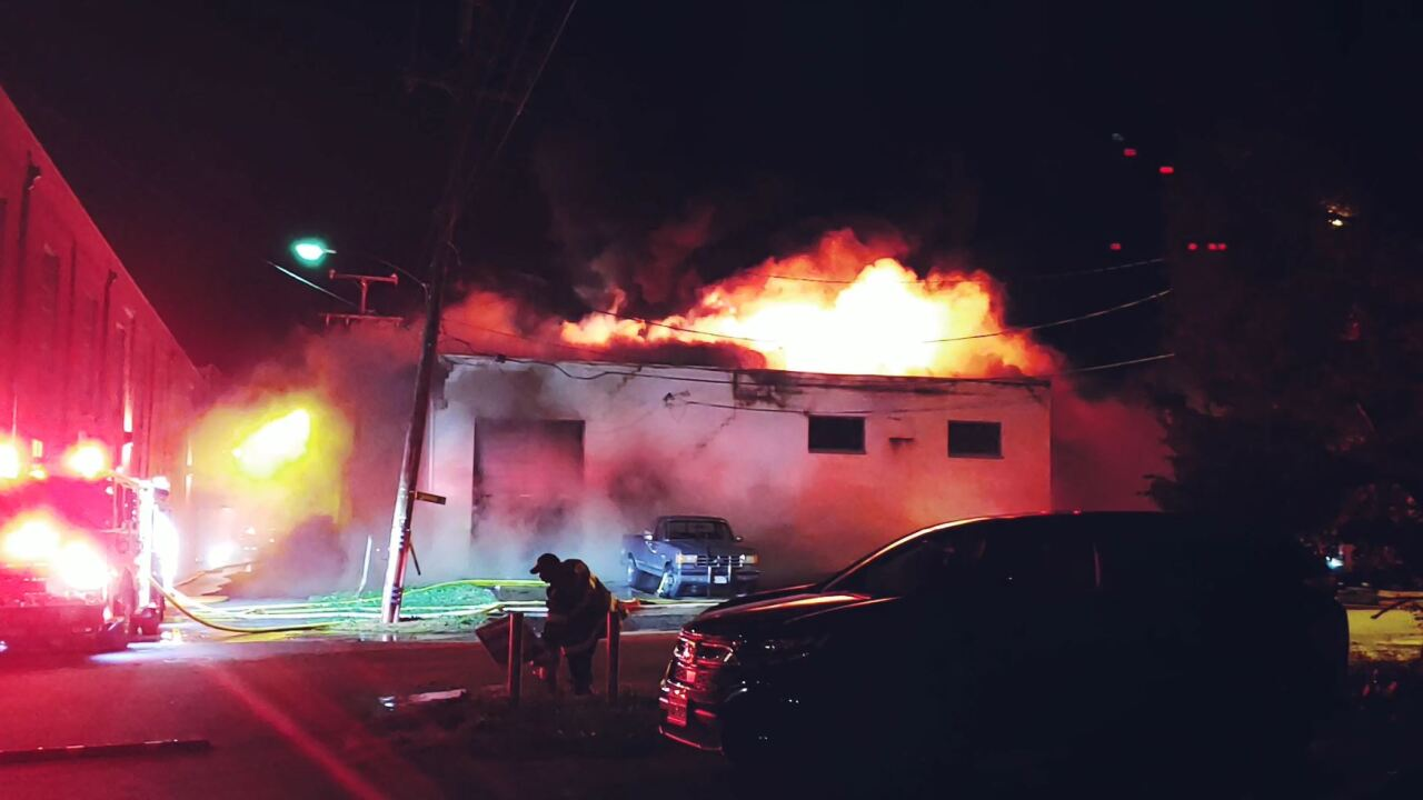 Body found in burning Richmond warehouse: 'They felt the buildingshake'
